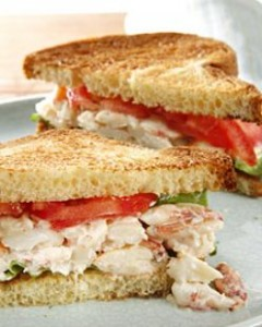 crab-lobster sandwich